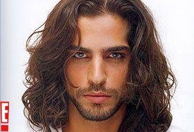 Nir Levi Israeli Model Long Hair Styles Jewish Men