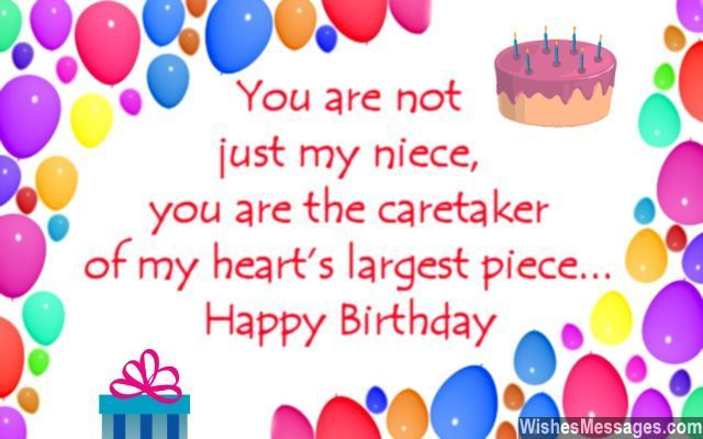 Birthday Wishes For Niece  Niece Quotes Birthday Greetings And