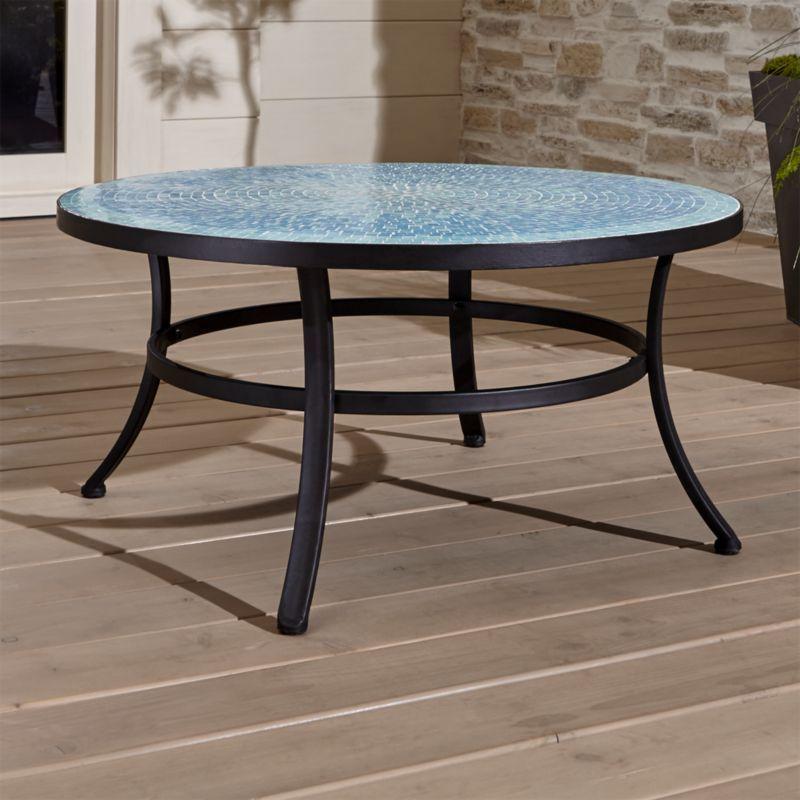 Park Art|My WordPress Blog_Black Stone Outdoor Coffee Table