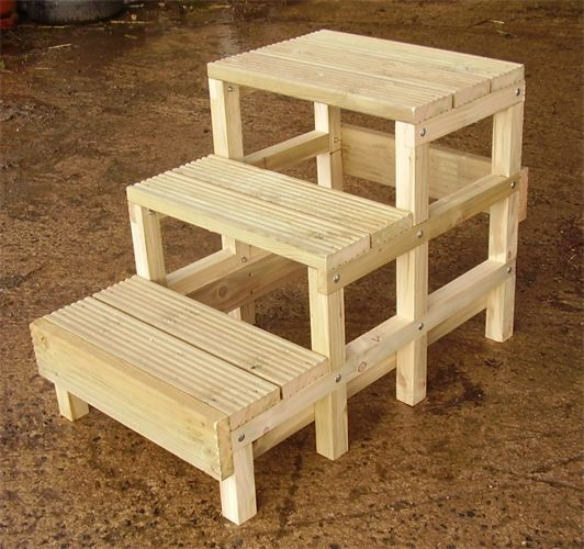 Steps For Horses : Horse mounting block on pinterest horses tack trunk and