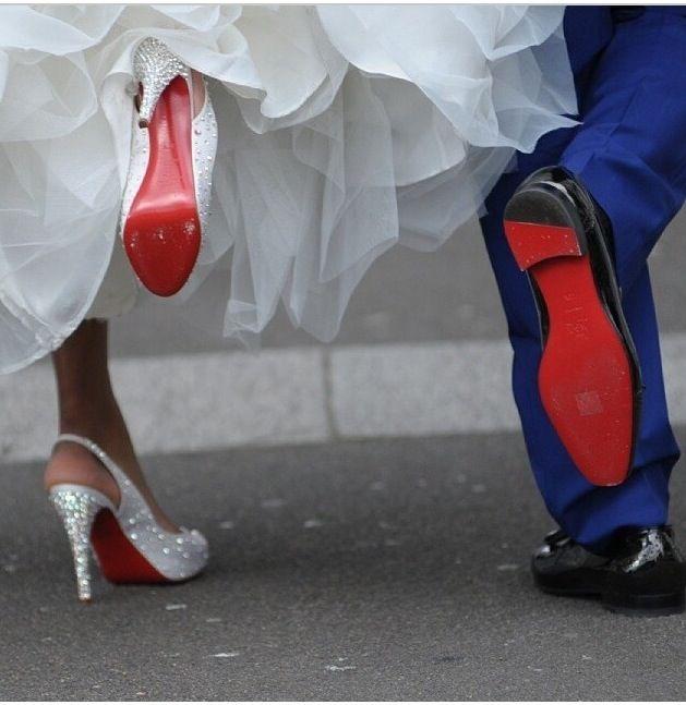 Lovely Christian Louboutin Shoes Wedding Photo Pose Louboutin Wedding Shoes Christian Louboutin Wedding Christian Louboutin Wedding Shoes