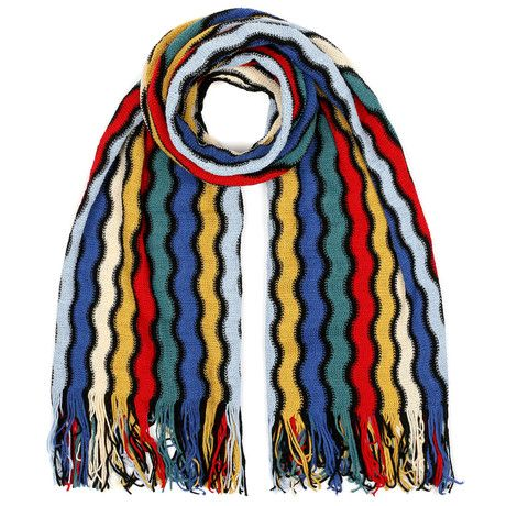 Maximo Patterned Scarf // Multi