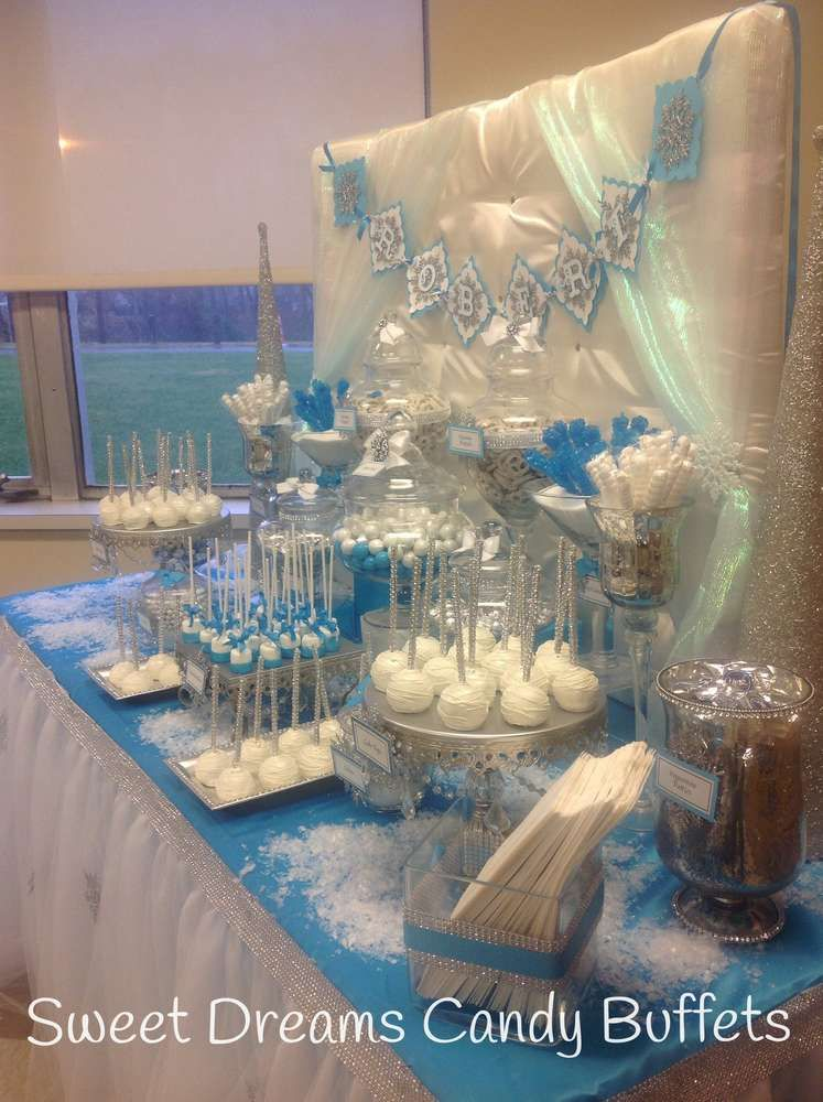 Winter Wonderland Baby Shower Party Ideas Baby Shower