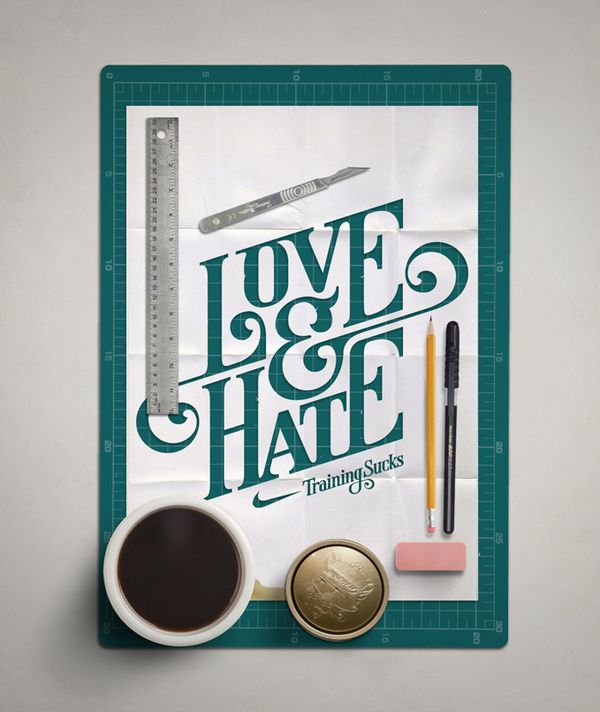 Typography Works on the Behance Network - via http://bit.ly/epinner
