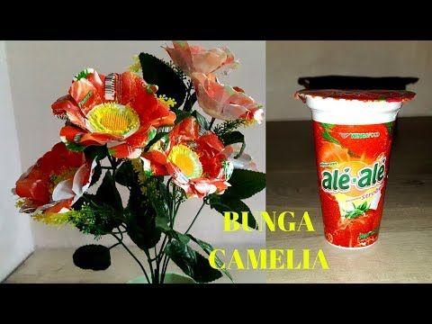 Ide Kreatif Bunga Anggrek Dari Gelas Plastik Cara Membuat Bunga