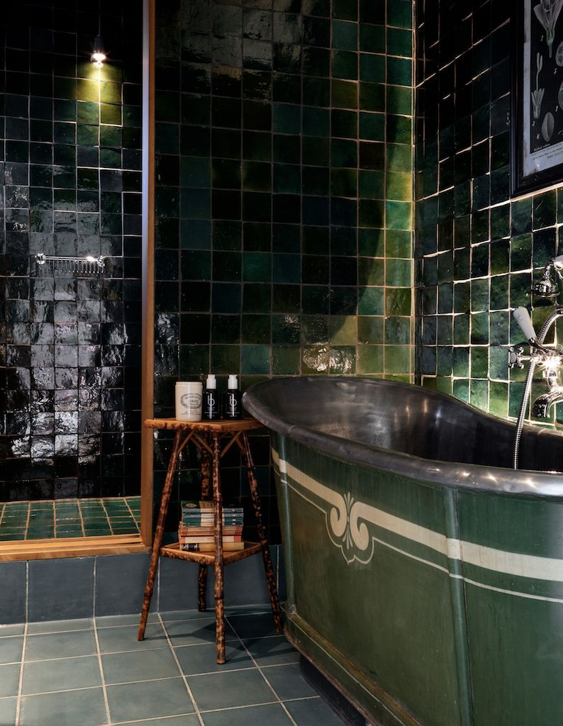 Nicola Harding Design | Beaverbrook – Garden House | Green Room 綠色 ...