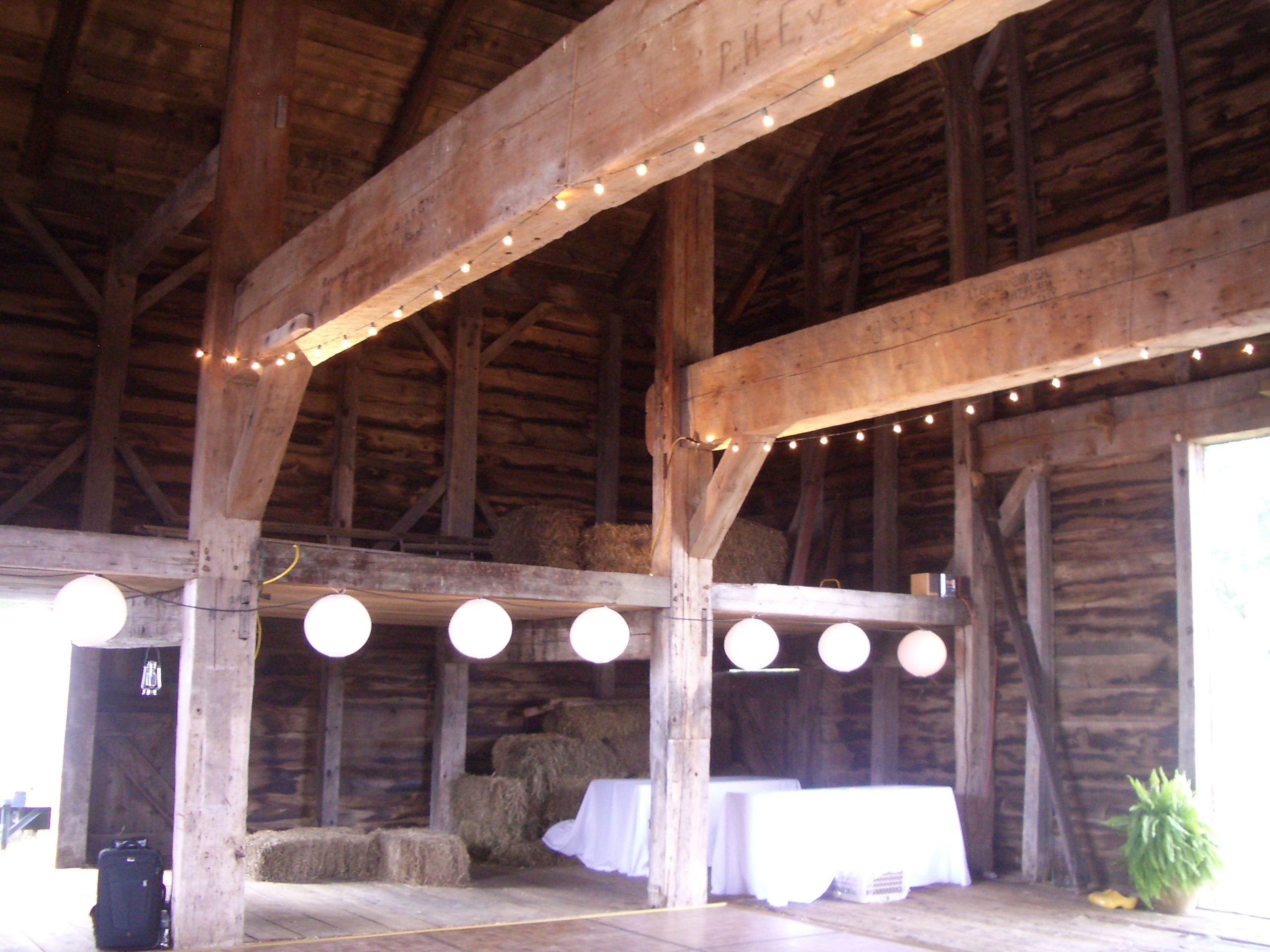 The barn - Circa 1799 Barn in NY state