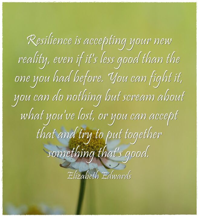 Resilience Quotes Interesting Elizabeth Edwards Resilience Quote  Lessons In Resilience