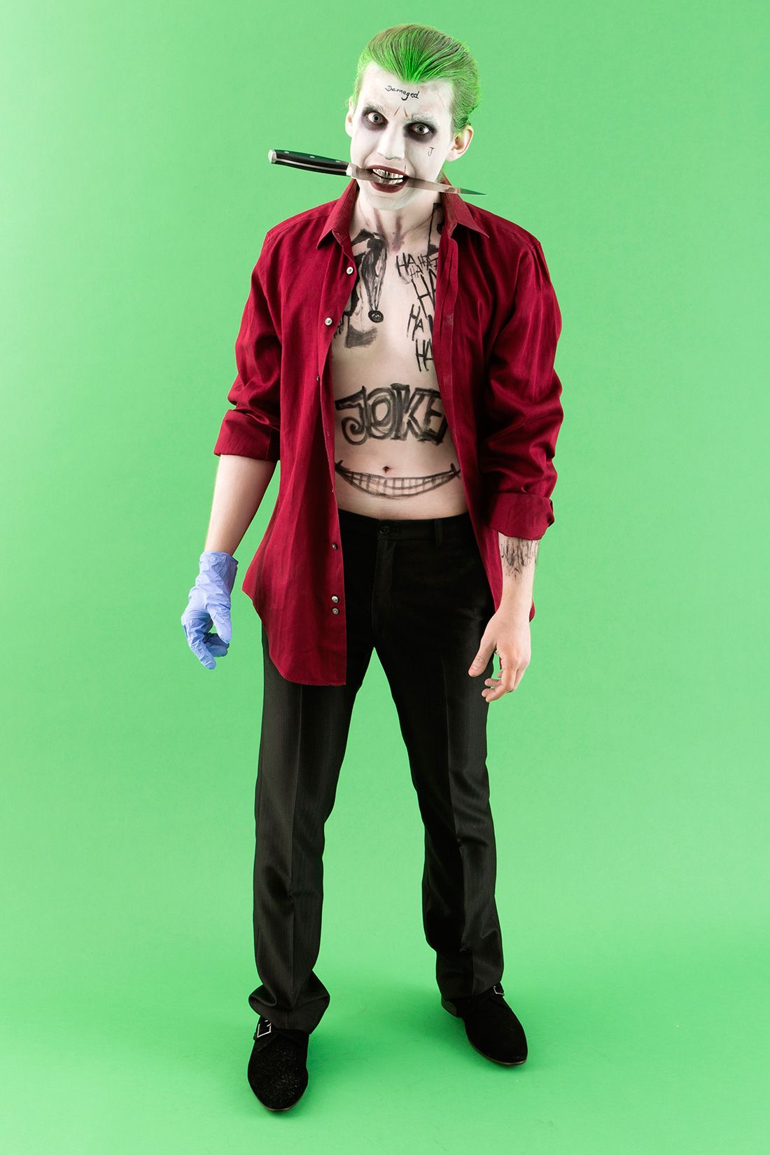 how to make suicide squad�s the joker costume for
