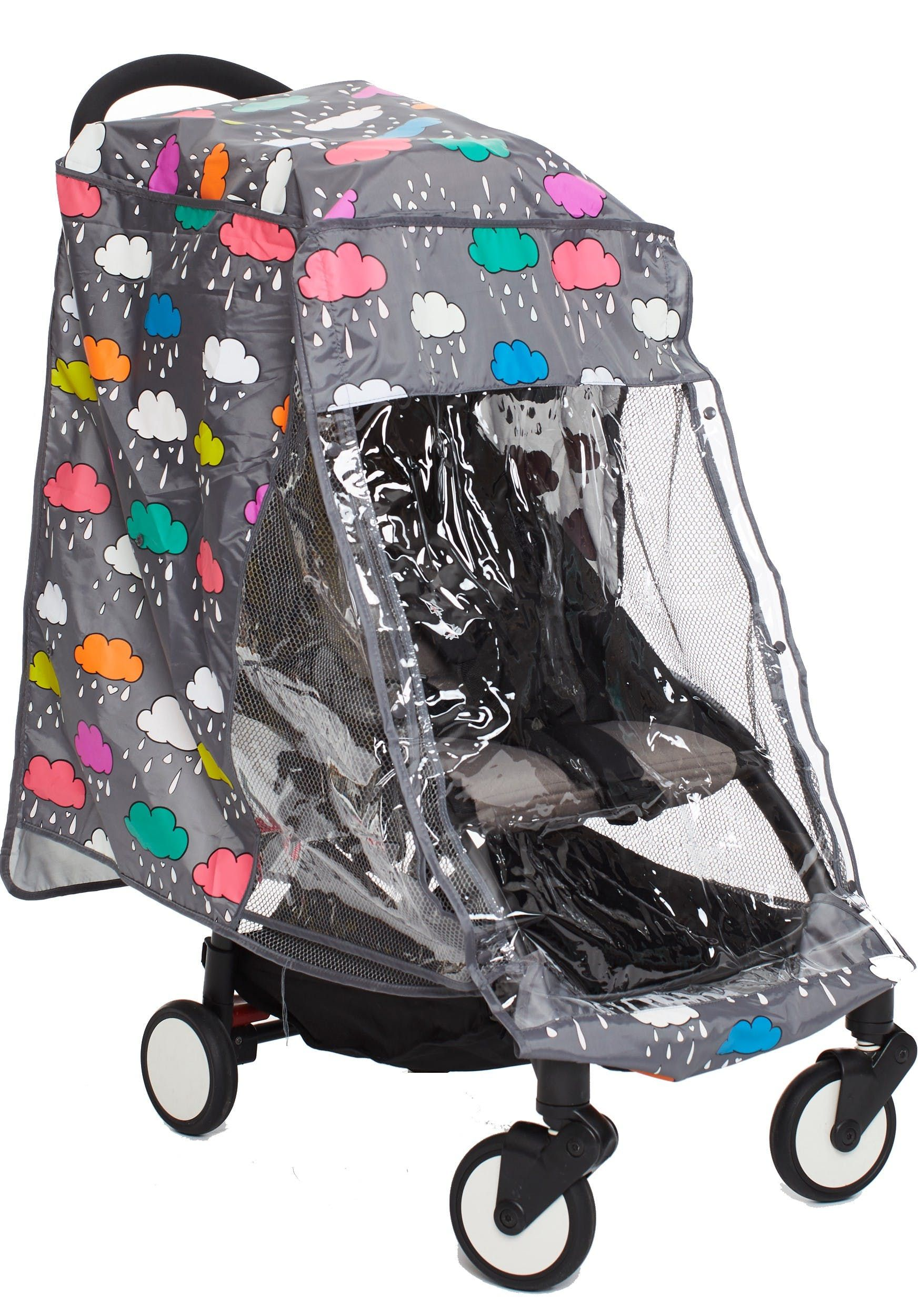 Stroller Rain Cover Rainy Day OS by Rosie Pope