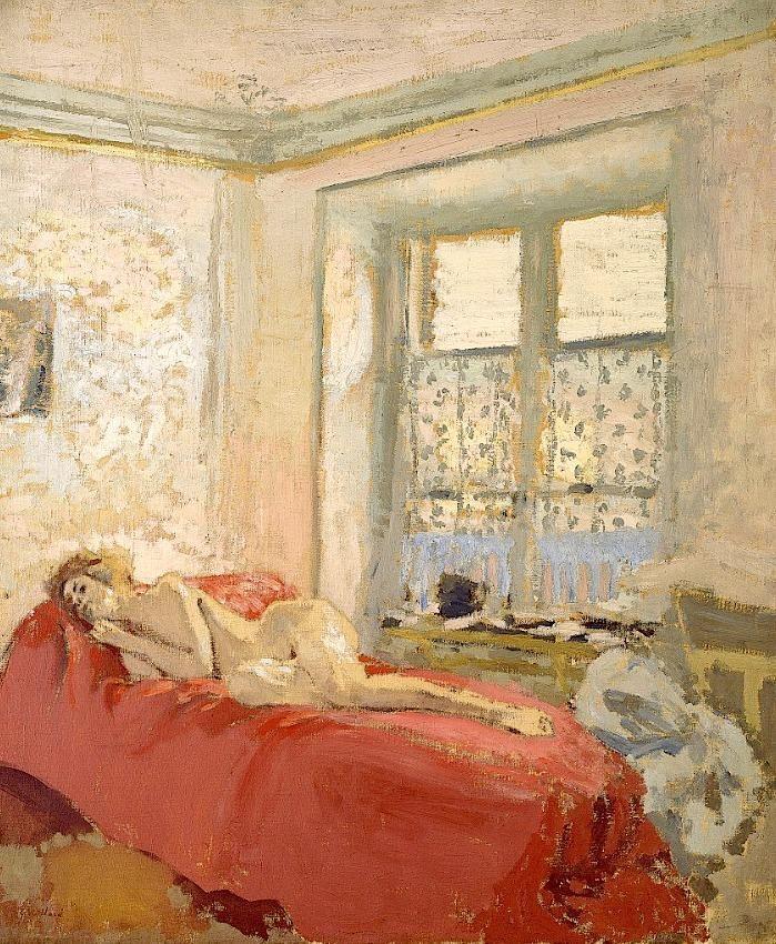 Edouard Vuillard(1868ー1940)「Nu couché」