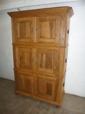 Original Victorian Kitchen | ... Truly Stunning Waxed Original Late Victorian 3 Piece Kitchen Cupboard