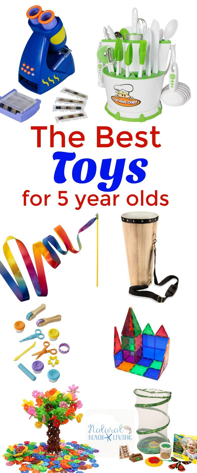 The Best Montessori Toys for 5 Year Olds | Natural Beach Living ...