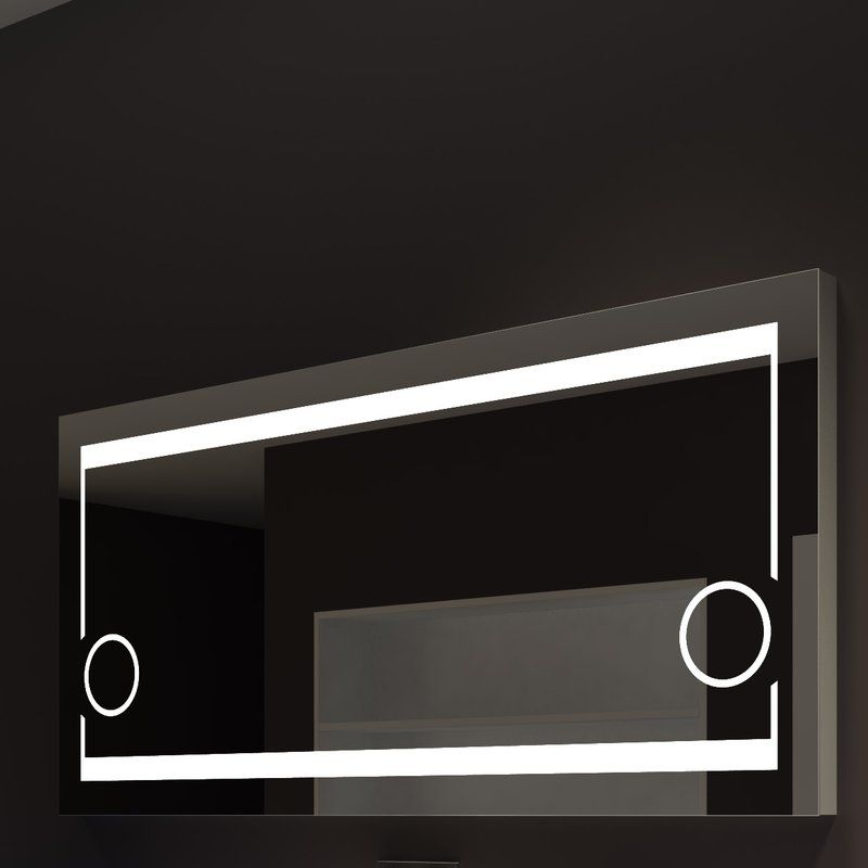 Hub Modern And Contemporary Accent Mirror Vanity Wall Mirror