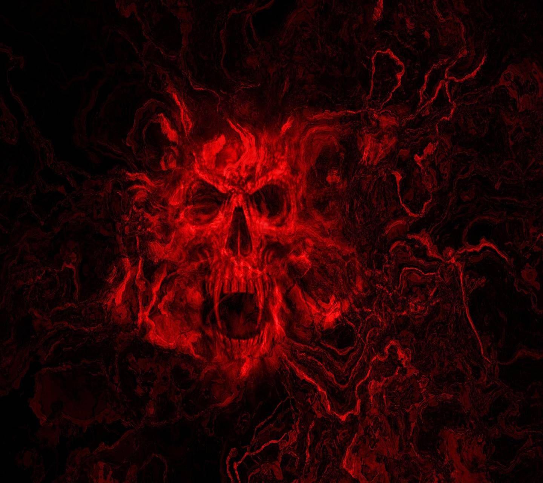 Red Skull Wallpaper By Savanna 21 Free On Zedge Skull Wallpaper Skull Wallpaper Iphone Black Skulls Wallpaper