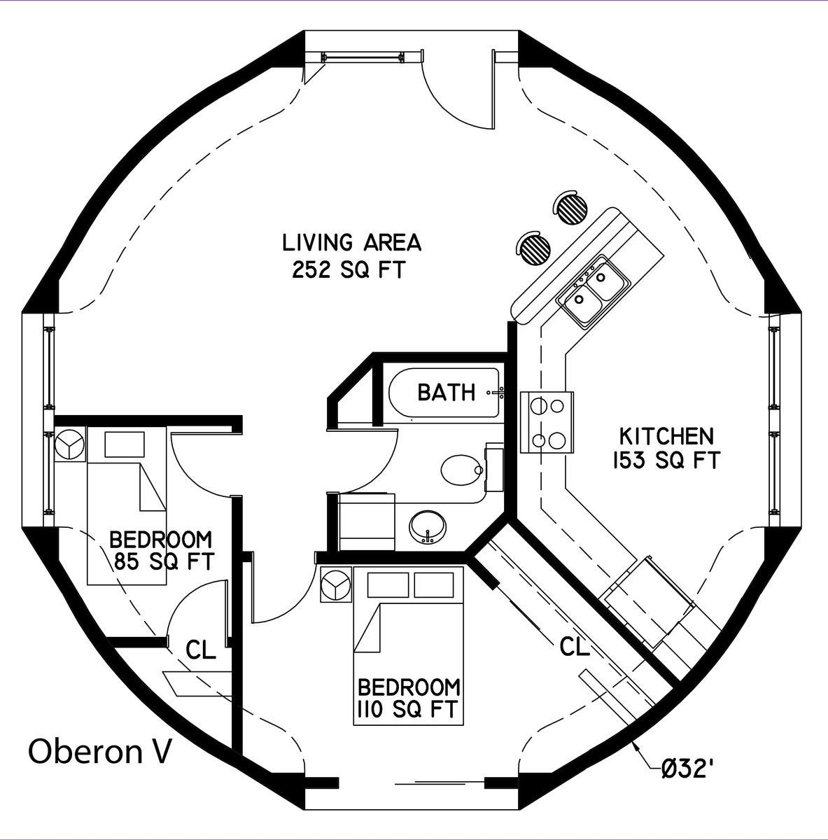 Layouts For Dome Homes Plans: Grain Bin Floor Plans In 2019