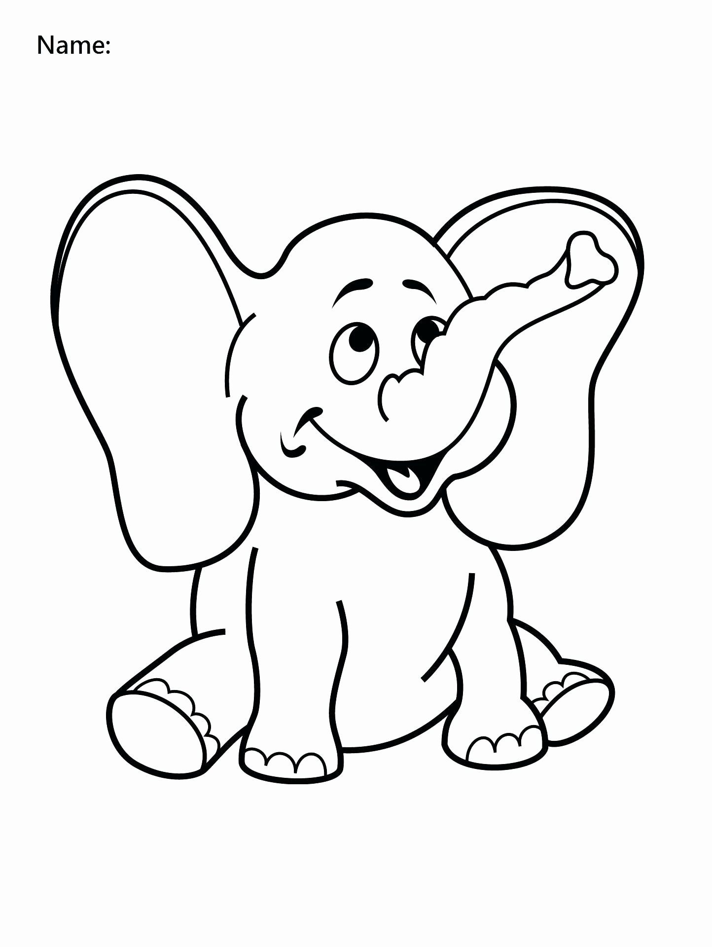 Coloring Activities For 1 Year Olds New Ear Coloring