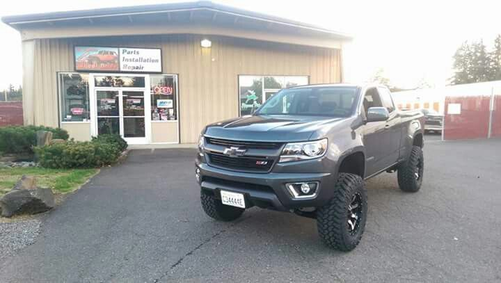 2015 Chevrolet Colorado Z71 Lifted Chevrolet Colorado Z71 Chevrolet Colorado Chevy Colorado