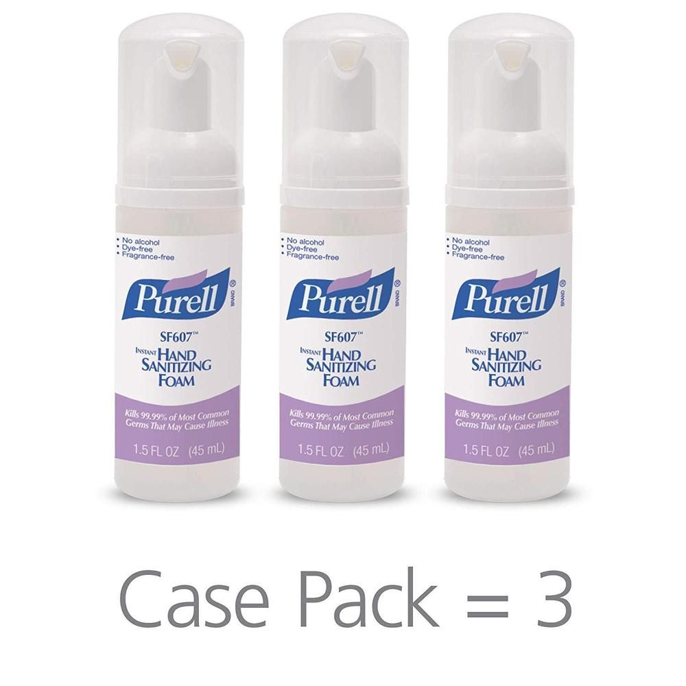 Purell Sf607 Hand Sanitizer Foam Pump Bottle Portable Foaming