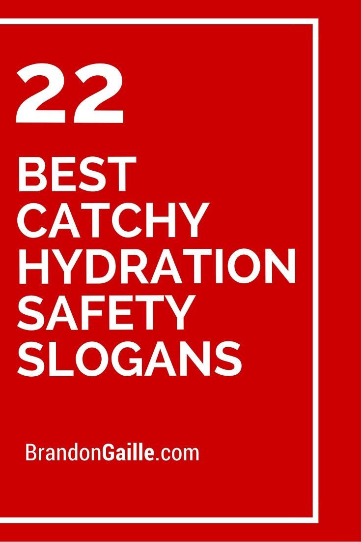 35 Catchy Fall Safety Slogans | Safety slogans, Fall and Safety