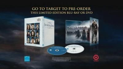 Get+50+minutes+of+additional+content+in+the+Twilight+Saga+Breaking+Dawn+PT.+2+Deluxe+Edition,+available+at+Target-+iSpot.tv