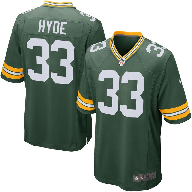 5d1e907fe Micah Hyde Green Bay Packers Nike Game Jersey - Green