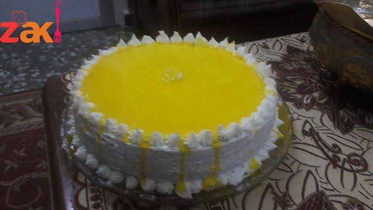 أبسط طريقة لعمل جاتوه عيد ميلاد بمكونات بسيطة في بيتك Food Desserts Cake