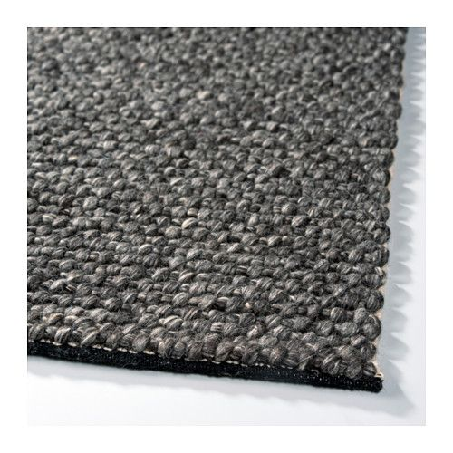 hjorthede tapis gris fait main gris living rooms room decor and room. Black Bedroom Furniture Sets. Home Design Ideas