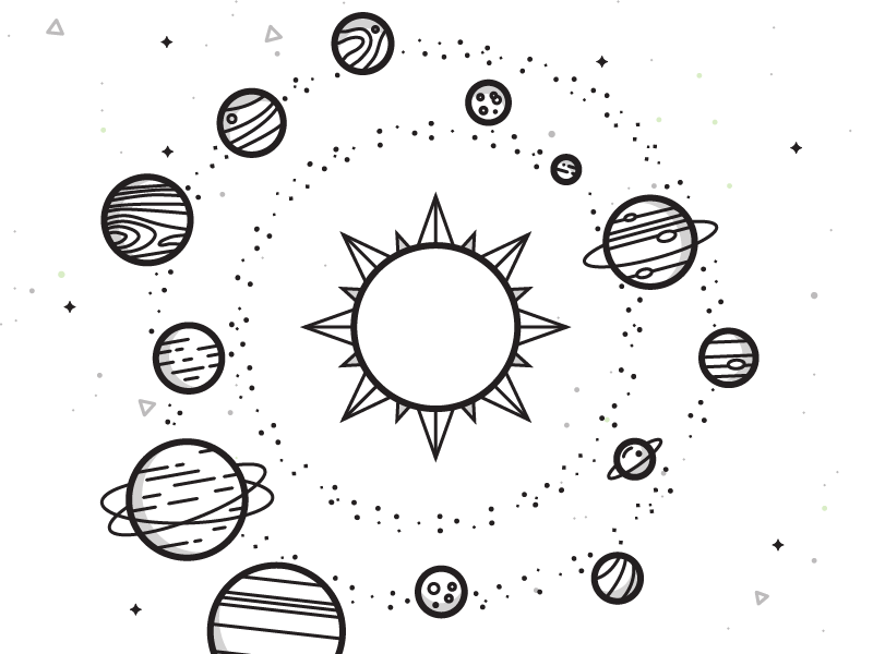 Solar System Planeta Dibujo Universo Dibujo Y Dibujos