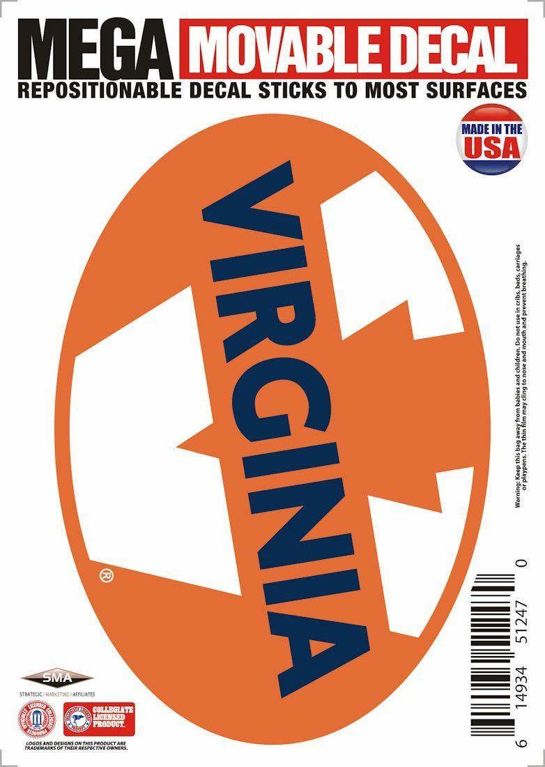 "Virginia Cavaliers 5""x7"" Mega Decal"