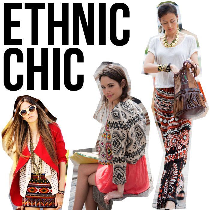Etnico Falda Lentejuelas Estilo Etnico Moda Fashion