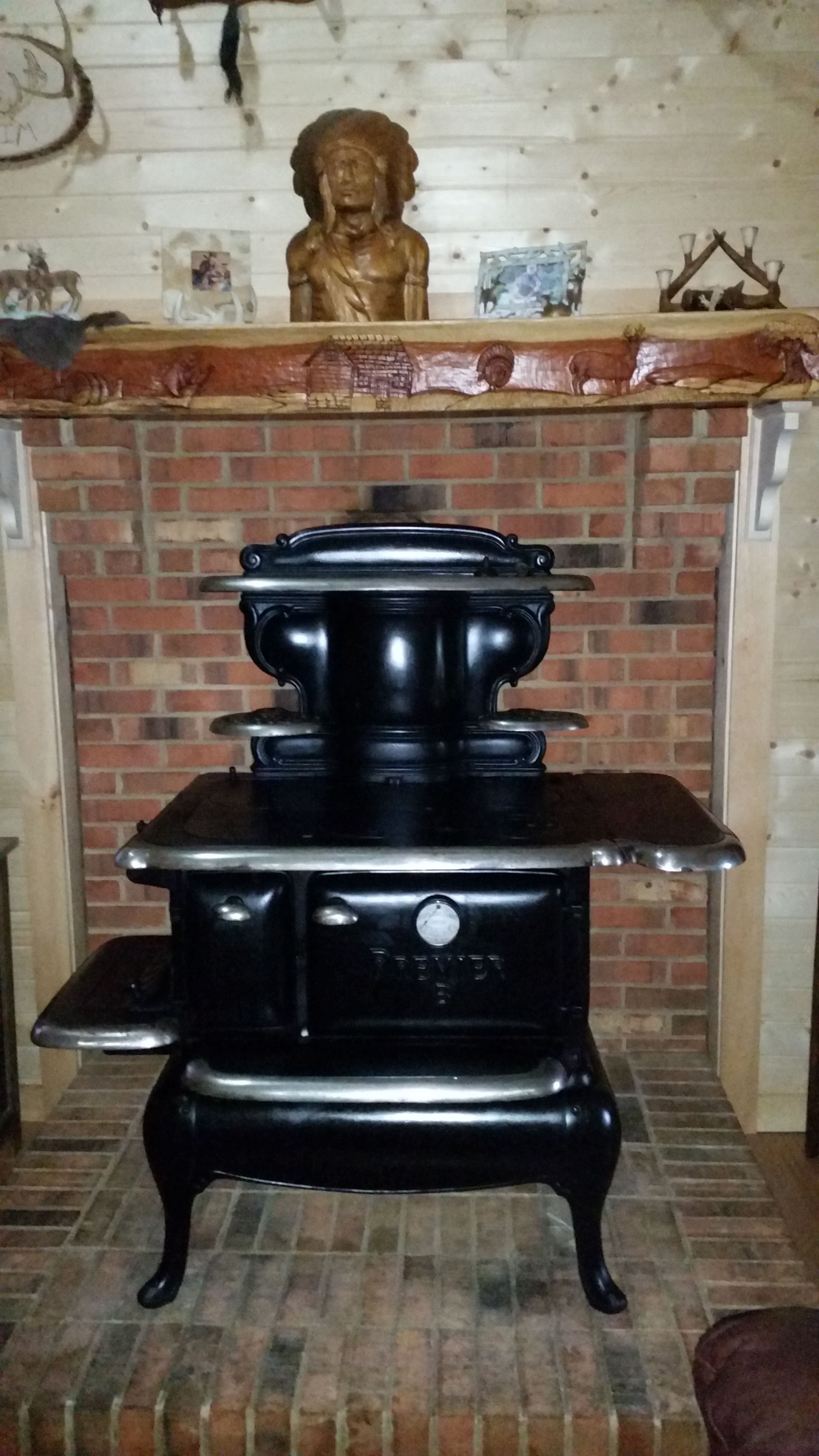 Pic of new cook stove purchased on Craigslist, needs some ...