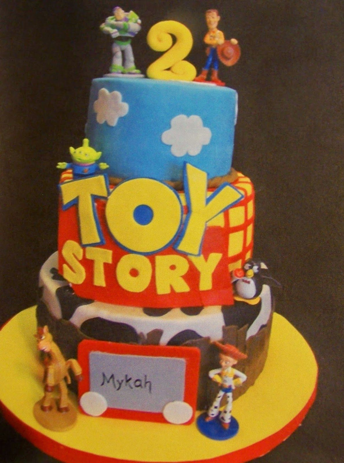 Cake Decoration Toys : A Slice of Heaven Custom Cakes Online Cake Decorating ...