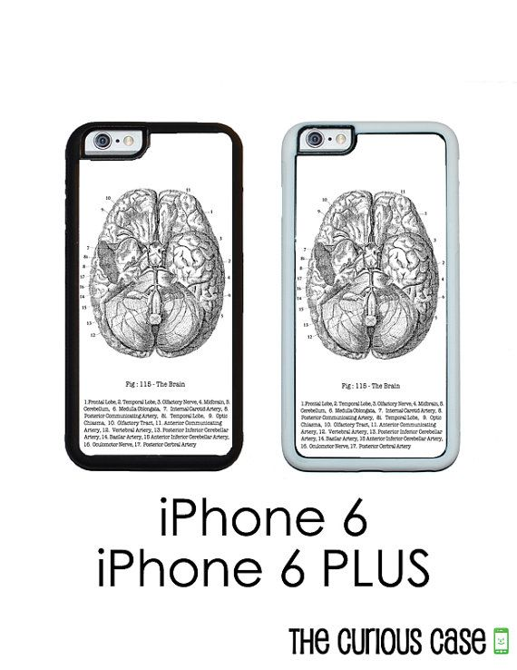 Medical Brain Chart Vintage iPhone 6 iPhone 6 PLUS Vintage Medical