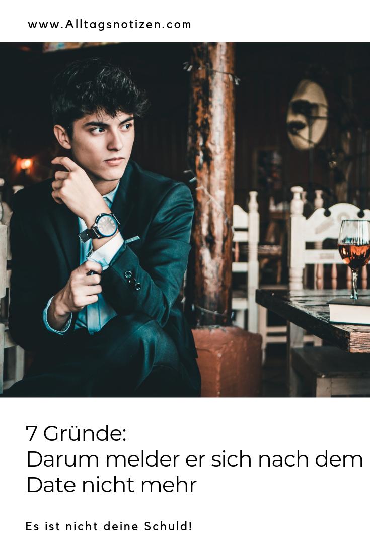 7 Gründe: Darum melder er sich nach dem Date nicht mehr