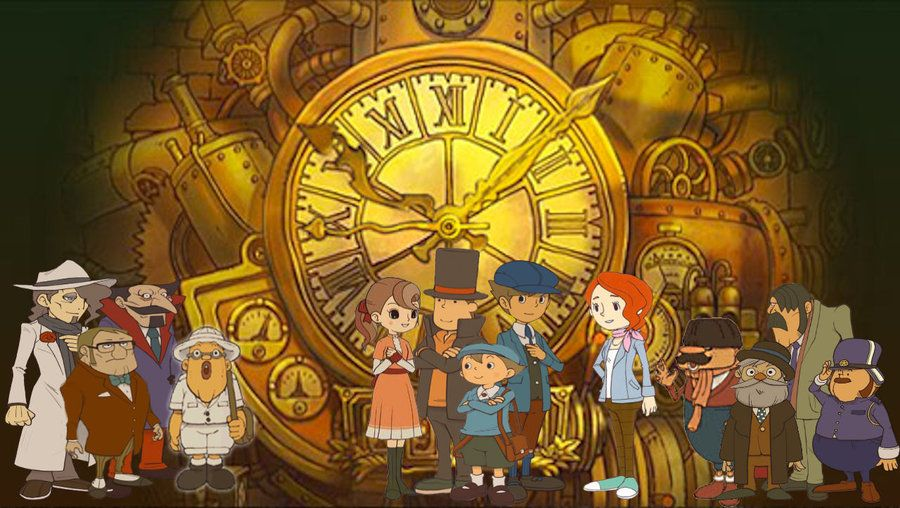 More Like Professor Layton And The Eternal Diva Wallpaper By