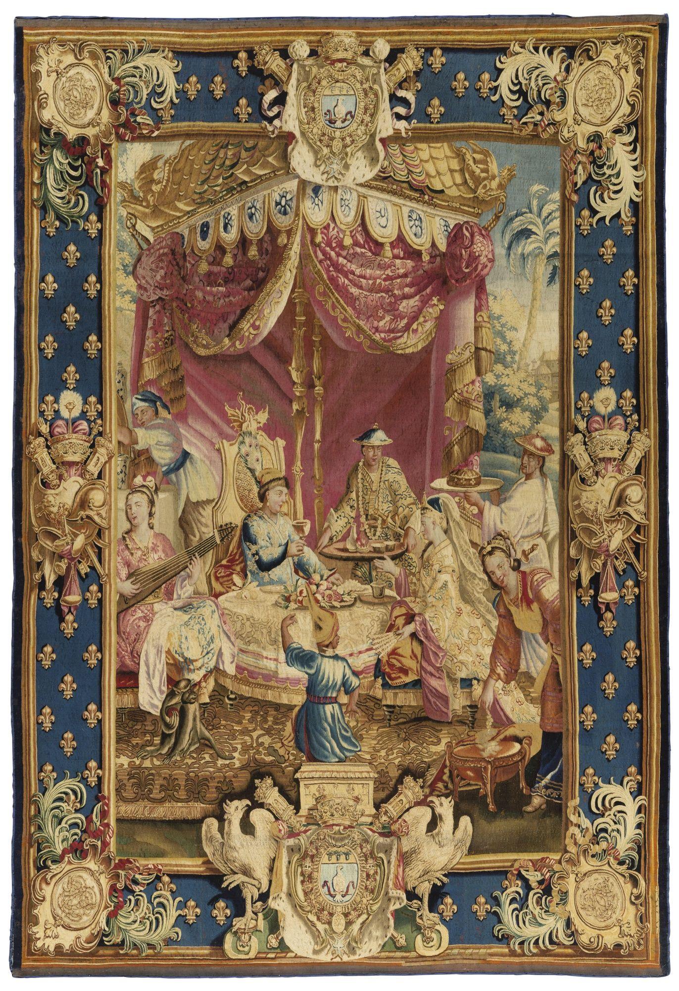 A Tapestry La Collation From The Series L Histoire De L