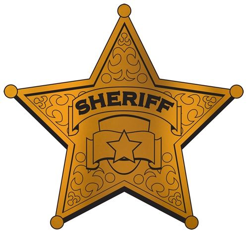 Superb image pertaining to printable sheriff badge