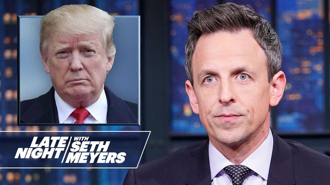 President Trump Dismisses Concerns About Iran Retaliating In 2020 Seth Meyers Everything Funny How To Memorize Things