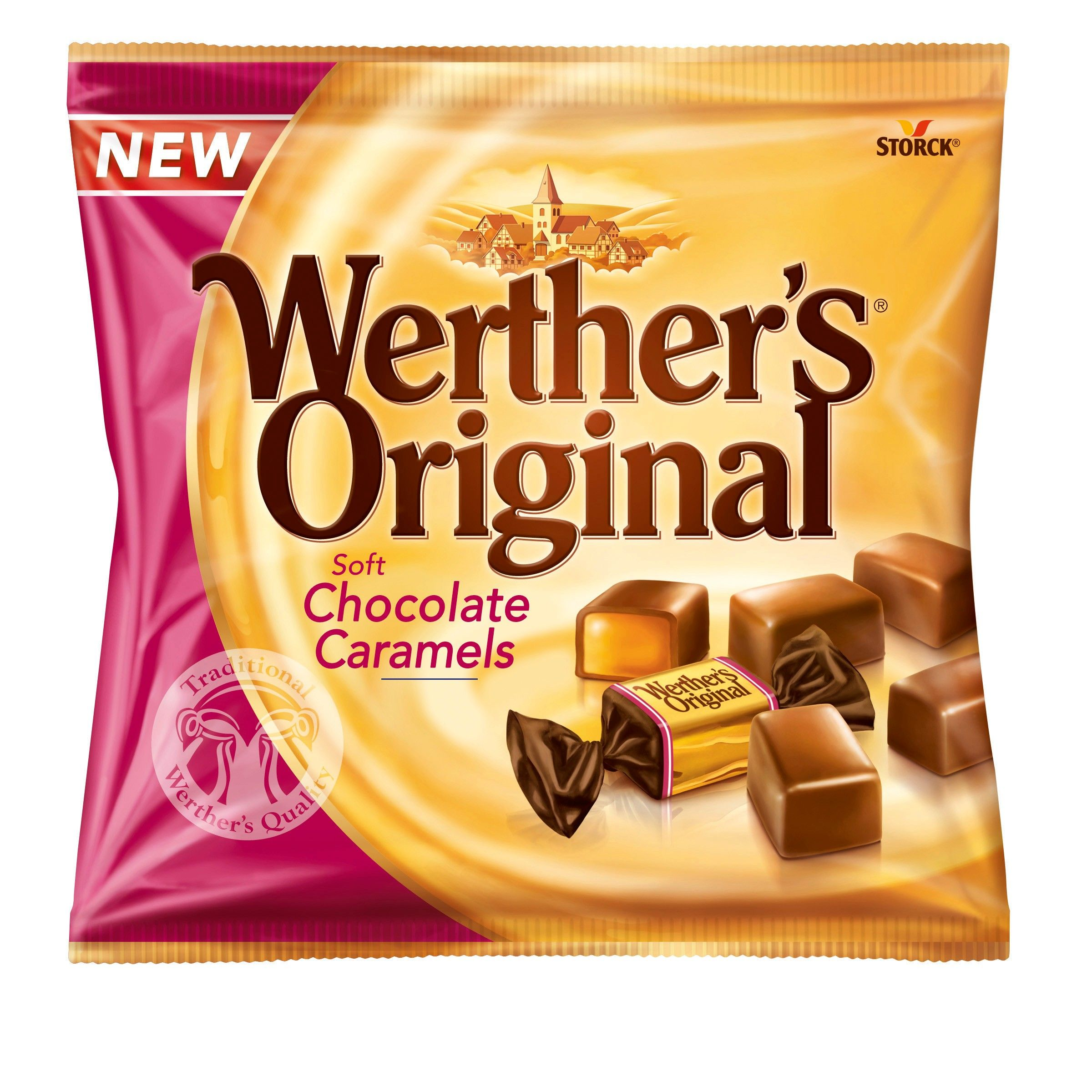 Werther S Original Szukaj W Google Caramelo De Chocolate
