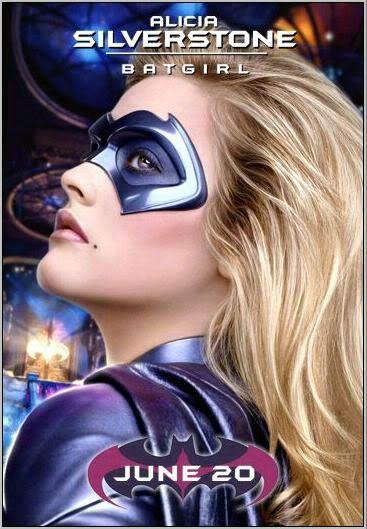 Alicia Silverstone as Batgirl (DC Comics).