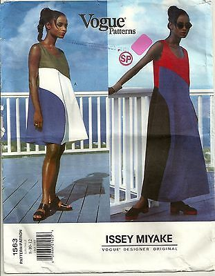 Vogue-Designer-Original-Sewing-Pattern-1563-Issey-Miyake-Dress-Size ...