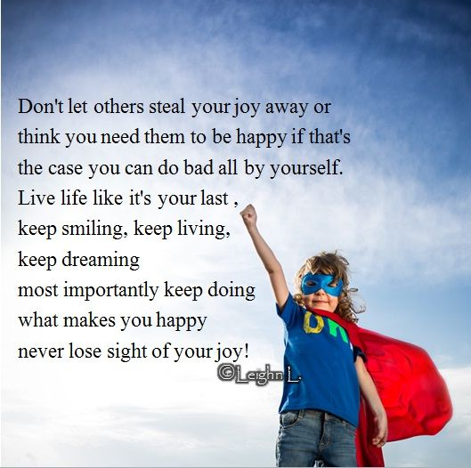 Seeking Inner Peace Quotes: Letting Others Steal Your Joy
