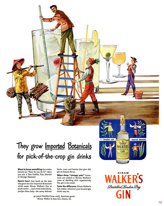 ads food drinks drinks alcohol vintage retro gin