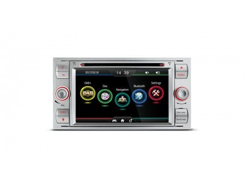 Pdab70fsf S 7 Hd Digital Touch Screen Built In Dab Tuner Custom Fit For Ford Xtrons Co Uk Car Stereo Ford Custom Fit