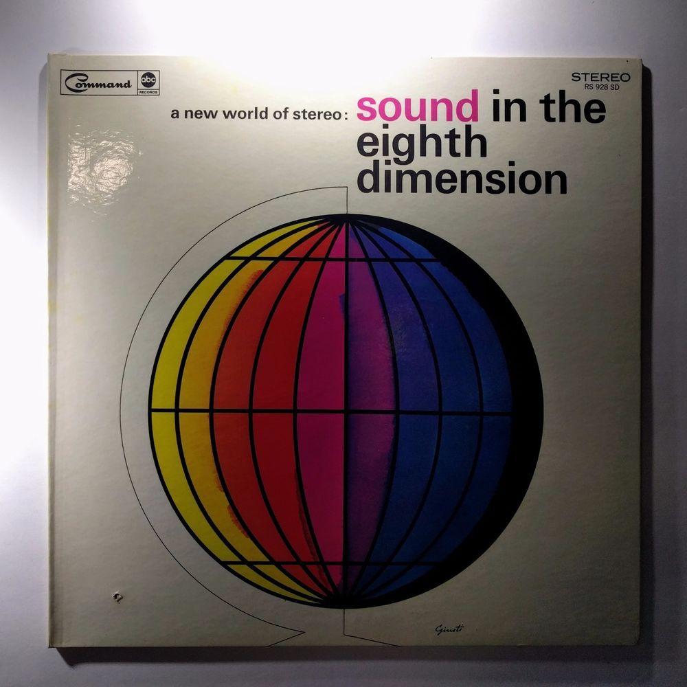 Bobby Byrne And His Orchestra A New World Of Stereo Sound In The Eighth Dimensi Vinyl Lp Bobbybyrne Jazz Latin Pop Easylisten Vinyl Records Easy Listening Orchestra