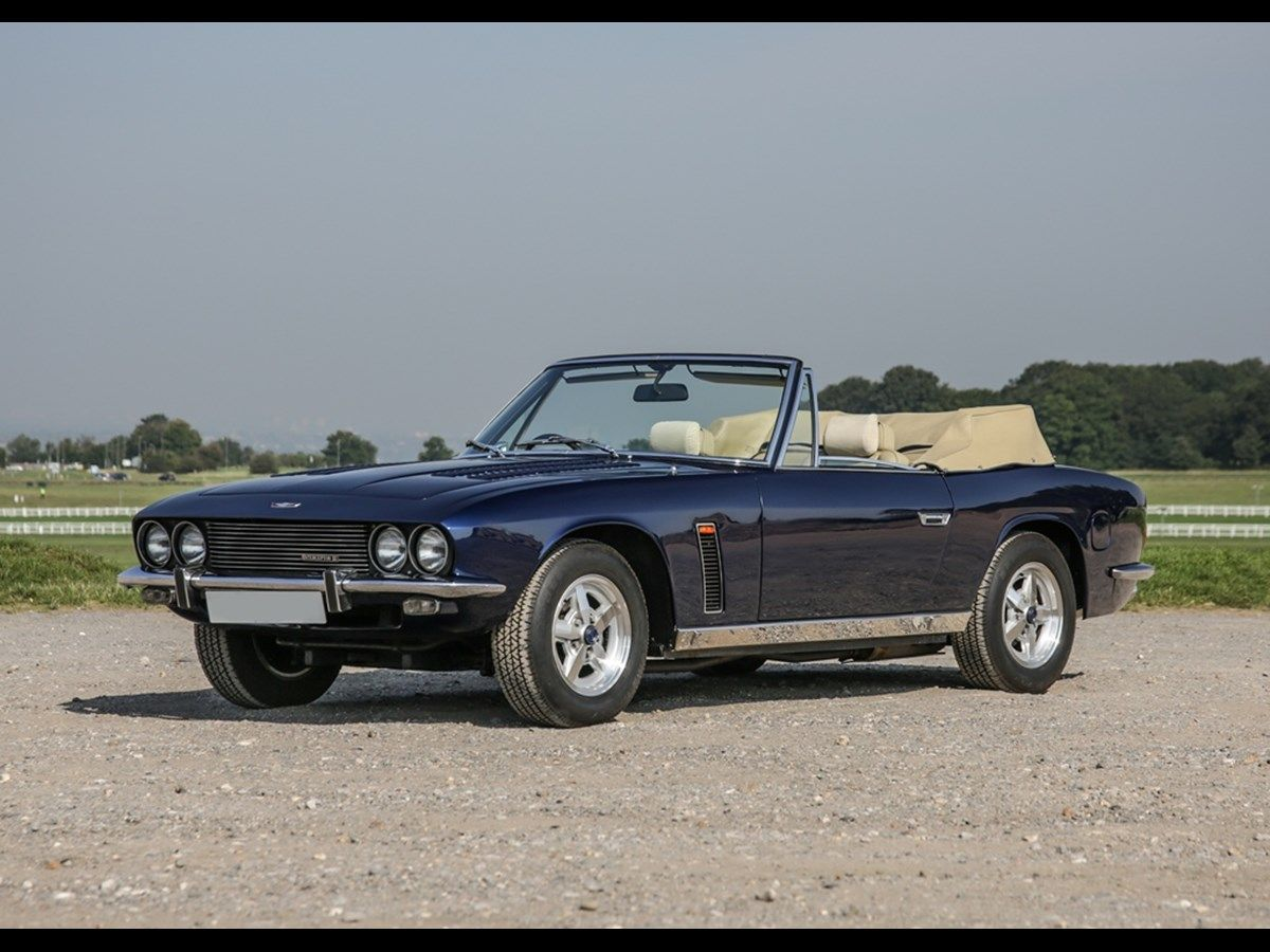 The Jensen Interceptor Mk. III was introduced in 1971 and