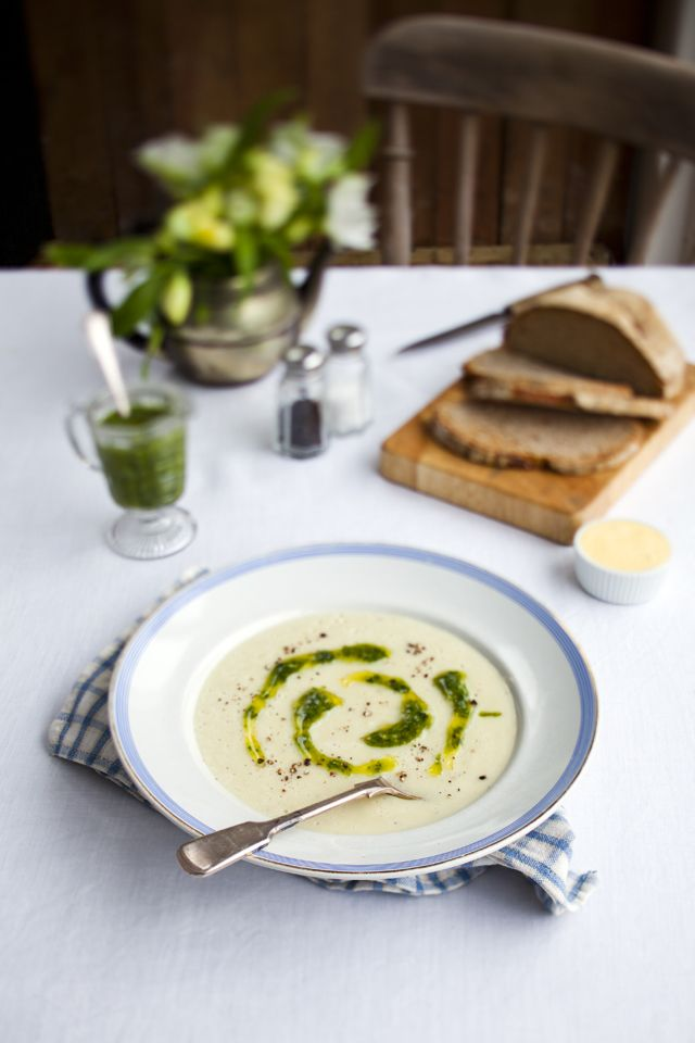 Jerusalem Artichoke Soup Savory In 2018 Pinterest Soup