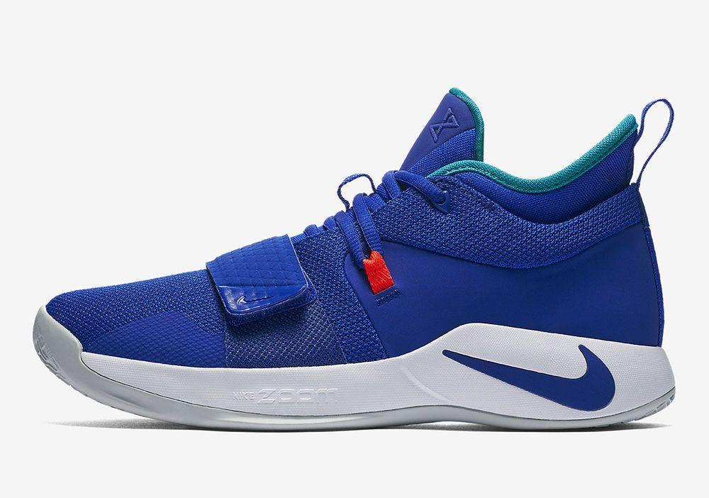 59e1851e850 Nike PG 2.5  Fortnite RACER BLUE TEAL WHITE PAUL GEORGE BQ8452-401 sz 10.5