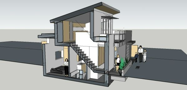 Simple living in an sq ft small house also pinterest rh